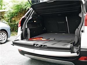 Peugeot 3008 2010 багажное отделение