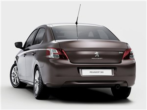 Peugeot 301 - Peugeot 301 2013 вид сзади