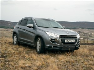 Peugeot 4008 - peugeot 4008 2012 вид спереди