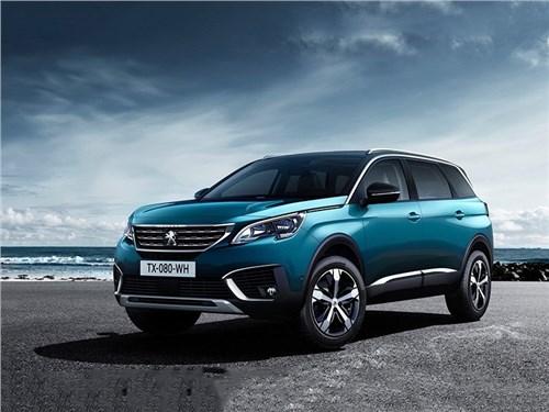 Peugeot привез в Россию кроссовер 5008