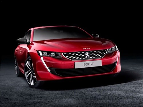 Peugeot 508 рассекретили до премьеры