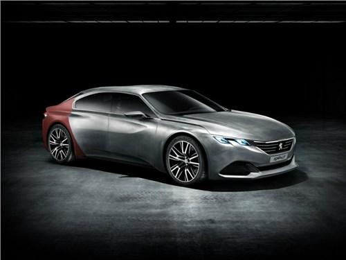 Новость про Peugeot - Peugeot готовит новый седан бизнес-класса
