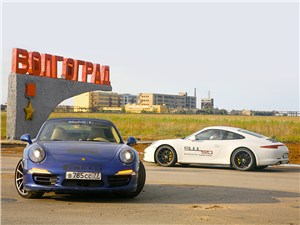 Porsche 911 Carrera 4S - автопробег «911 часов с 911»
