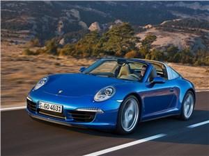 Porsche 911 Targa 2014 вид спереди