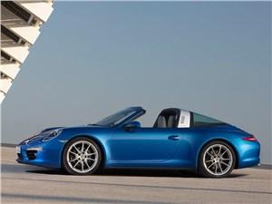 Porsche 911 Targa 4 - Porsche 911 Targa 2014 вид сбоку