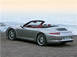 Летом лучше без крыши (Обзор российского рынка открытых автомобилей - 2007) 911 Carrera Cabriolet -