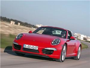 Porsche 911 Targa 4 - porsche 911 targa 2014 крыша поехала