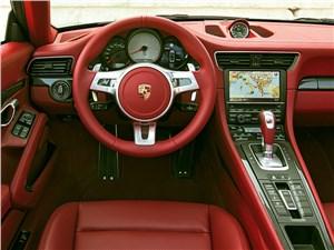 Предпросмотр porsche 911 targa 2014 водительское место