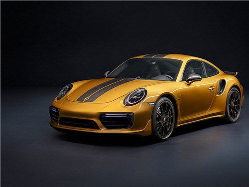 Новость про Porsche 911 Turbo S - Porsche 911 Turbo S Exclusive Series