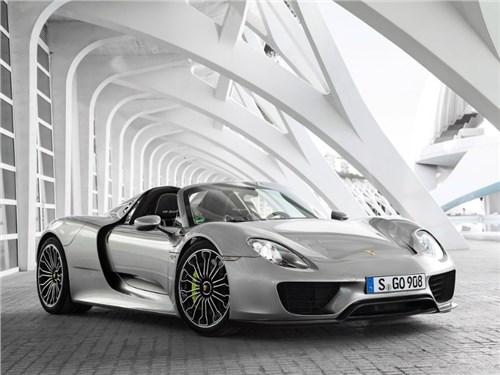 Porsche отзывает единственный 918 Spyder в России