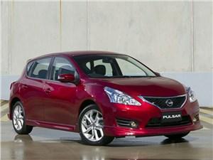 Новый Nissan Pulsar - Nissan Pulsar 2013 вид спереди