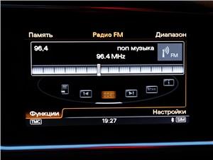 Предпросмотр audi q5 2012 мультимедийный экран
