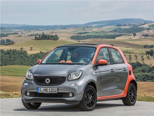 Автомобили Smart постепенно завоевывают российский рынок