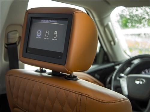 Infiniti QX80 2018 мониторы
