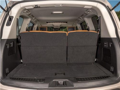 Infiniti QX80 2018 багажное отделение
