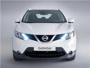 Nissan Qashqai - Nissan Qashqai 2013 вид спереди белый