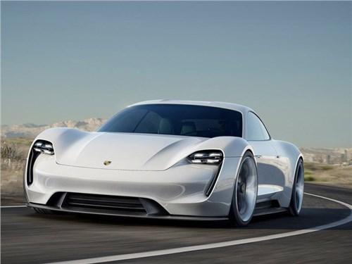 Новость про Porsche - Porsche развернет собственную сеть быстрых зарядных станций для электрокаров
