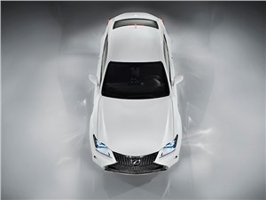 Lexus RC F Sport - Lexus RC F Sport 2014 вид сверху
