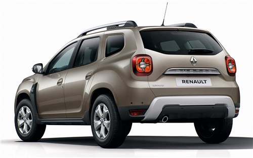 Renault Duster - Renault Duster 2 вид сзади