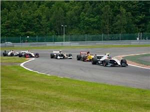 Соперничество в ходе бельгийского этапа чемпионата Formula Renault 3.5L оказалось острым
