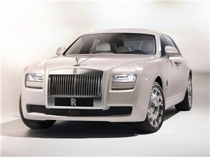 Новый Rolls-Royce Ghost - Rolls-Royce Ghost Six Senses