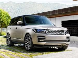 Новый Land Rover Range Rover - Land Rover Range Rover 2013 вид спереди