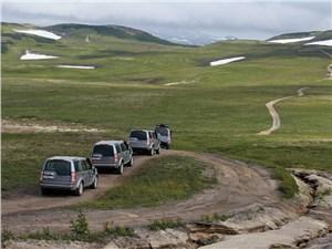 На Land Rover Discovery 4 по Камчатке