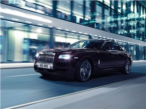 Новый Rolls-Royce Ghost - Rolls-Royce Ghost V-Specification 2014 вид спереди