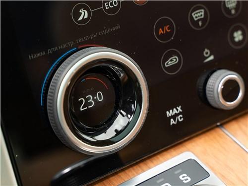 Land Rover Range Rover TDV6 2018 управление климатом