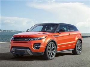 Предпросмотр land rover range rover evoque autobiography dynamic 2014 вид спереди сбоку