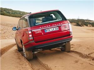 Предпросмотр land rover range rover 2013 вид сзади