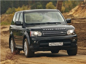 Range Rover Sport 3.0 TD 2010 вид спереди