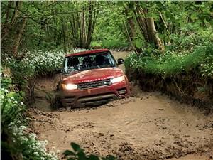 Land Rover Range Rover Sport 2013 вид спереди