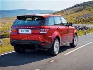 Land Rover Range Rover Sport 2013 вид сзади