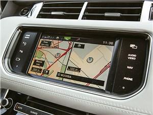 Range Rover Sport 5.0 Supercharged 2013 монитор