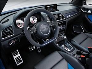 Предпросмотр audi rs q3 concept 2012 водительское место