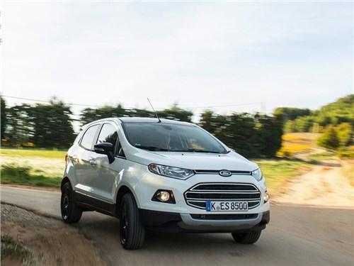 Новость про Ford EcoSport - Ford адаптировал EcoSport под российские реалии