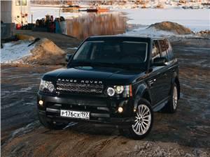 Range Rover Sport 2010 вид спереди