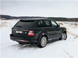 Range Rover Sport 2010 вид сзади