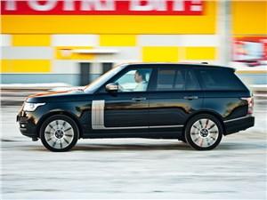 Range Rover 2012 вид сбоку