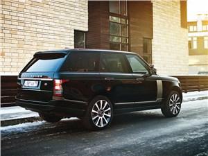 Range Rover 2012 вид сзади