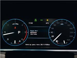 Предпросмотр range rover 2012 приборная панель