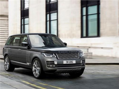Новость про Land Rover Range Rover - Range Rover SVAutobiography