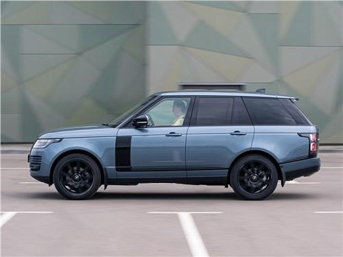 Land Rover Range Rover TDV6 2018 вид сбоку