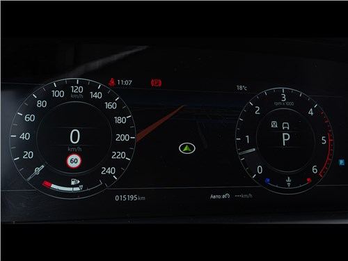 Land Rover Range Rover TDV6 2018 приборная панель
