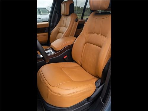 Land Rover Range Rover TDV6 2018 передние кресла