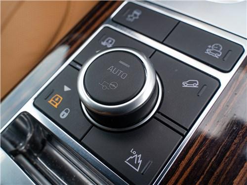 Land Rover Range Rover TDV6 2018 селектор режимов
