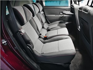 Renault Scenic 2012 задний диван