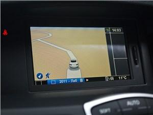 Renault Laguna Coupe 2007 интерфейс навигации
