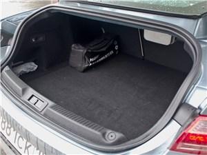 Renault Laguna Coupe 2007 багажное отделение